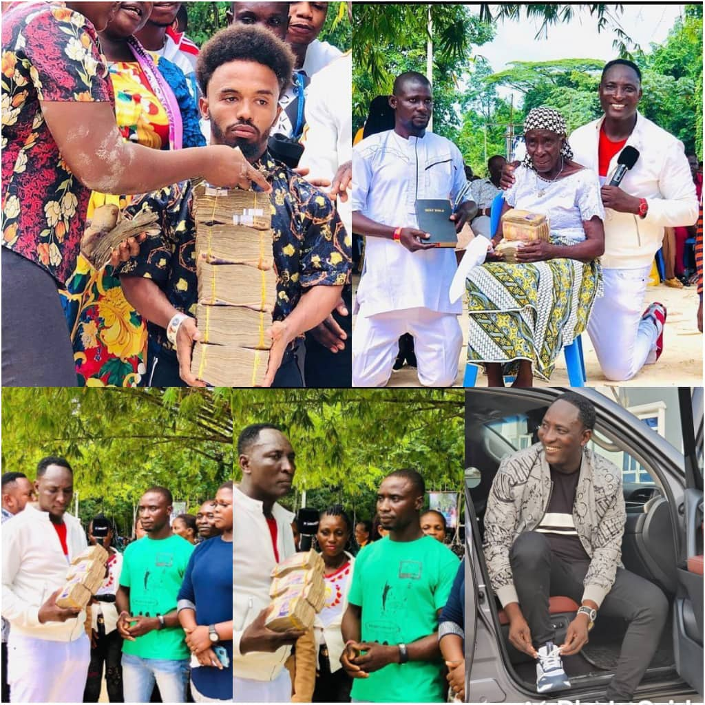 """""""Go and Marry"""" -The Billionaire Prophet, Jeremiah Fufeyin of CMDM tells couples as he supports them with over 3 Million Naira [Watch Video]"""
